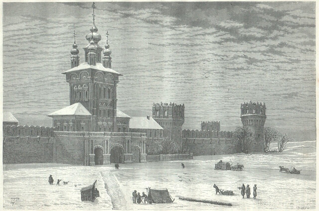 1872. Москва. Новодевичий монастырь