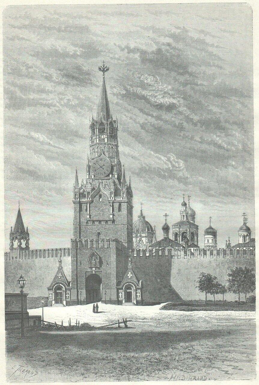 1872. Москва. Кремль. Спасские ворота