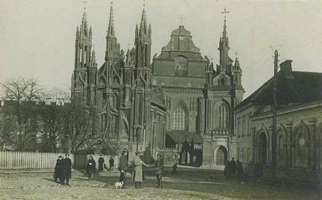 Костёл Святой Анны. 1915
