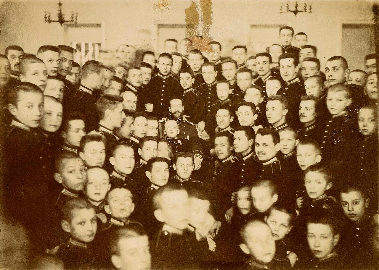 1901. Великий князь Константин Константинович в первом московском кадетском корпусе