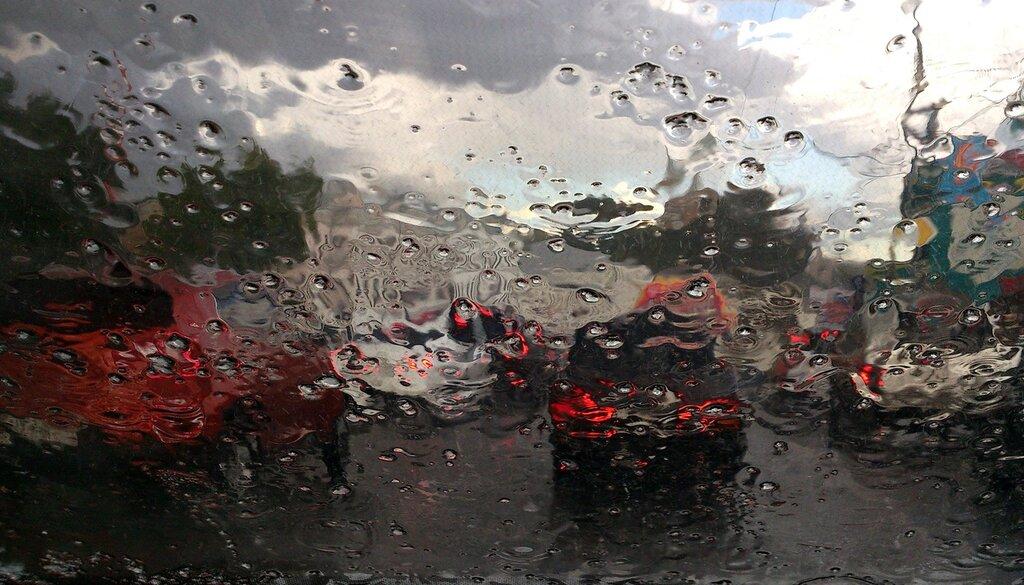 Художник-дождь