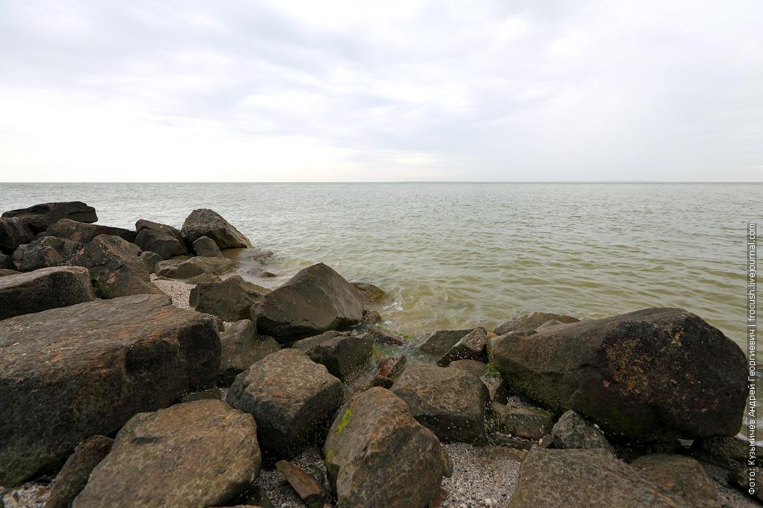 Остатки береговых укреплений