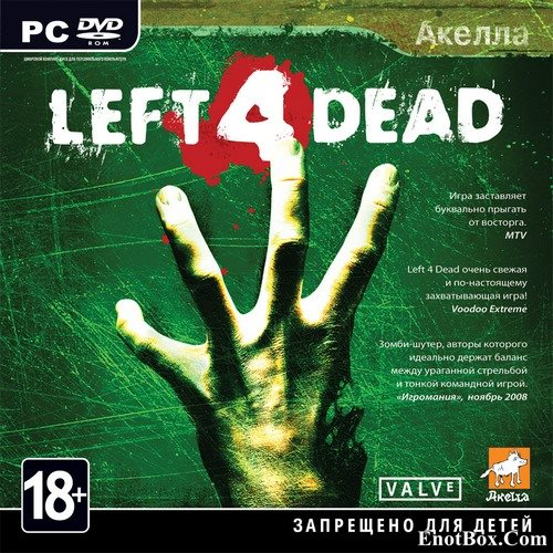 Left 4 Dead (2008/RUS/ENG/MULTi19/RePack by Tolyak26)