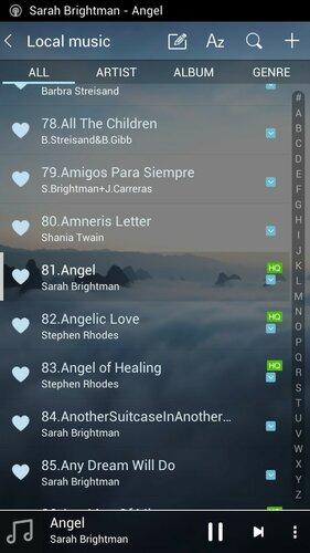 Список всех песен