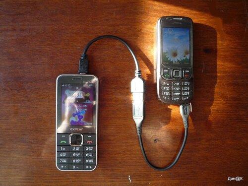 Explay Power Bank заряжает телефон