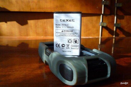 Texet TM-502R (аккумулятор)
