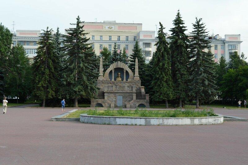 Памятник В. И. Ленину на Алом поле