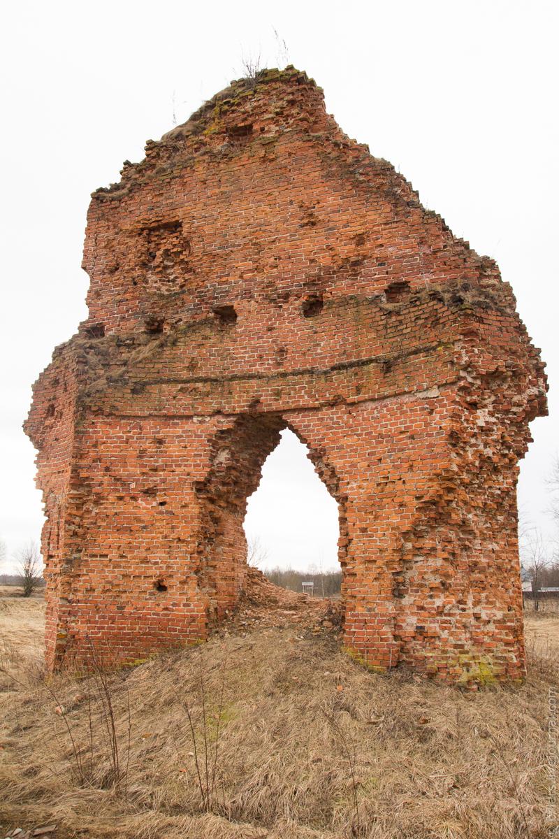 Кирпичный останец. alexbelykh.ru