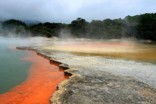 Страна термальных чудес Уаи-О-Тапу