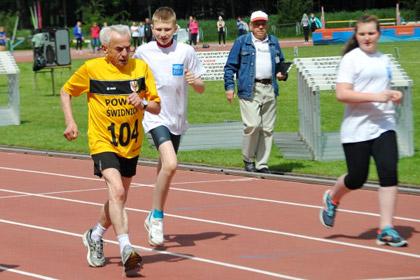 104-летний поляк поставил рекорд скорости на дистанции сто метров