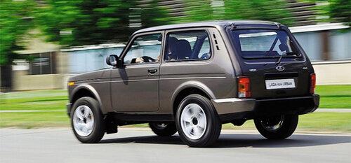 «ВАЗ» разработал Lada 4x4, и назвал ее Urban