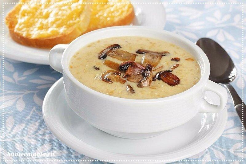 Сырный суп с опятами (рецепт)
