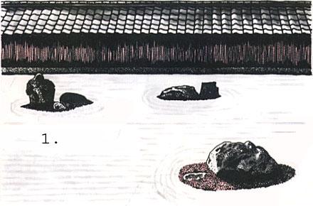 Японский сад. Три основных стиля