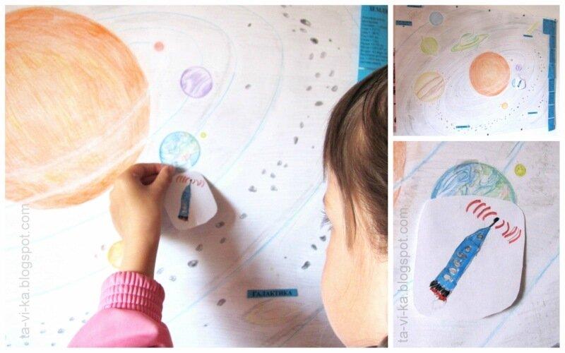 космический квест  - детский праздник