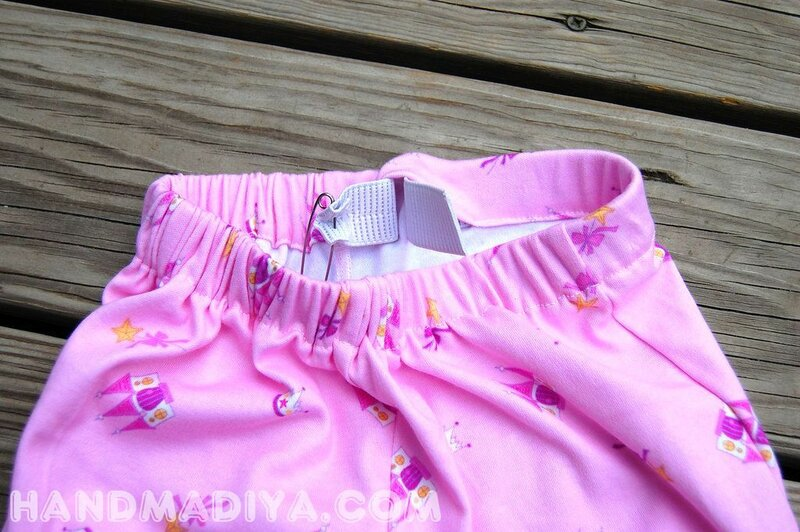 We sew summer shorts in an hour. Tutorial