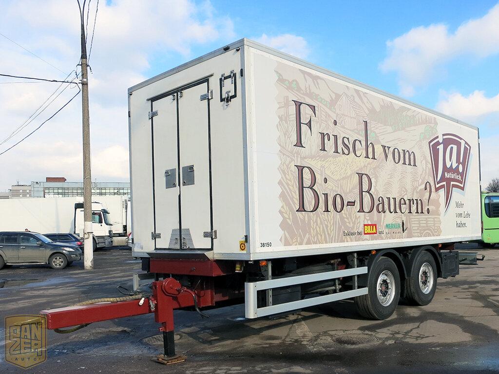 Прицеп тандем для грузовых автомобилей