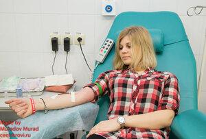 Студенты ПМГМУ им. И.М. Сеченова приняли участие в дне донора