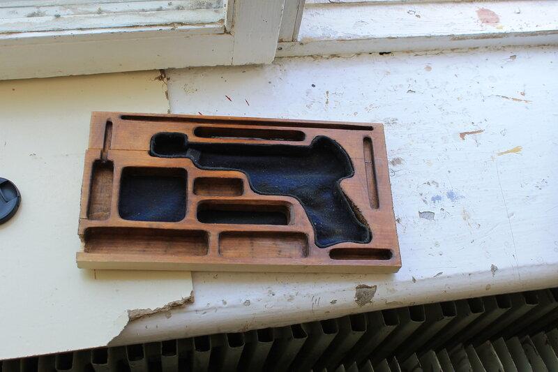 Коробка для пистолета