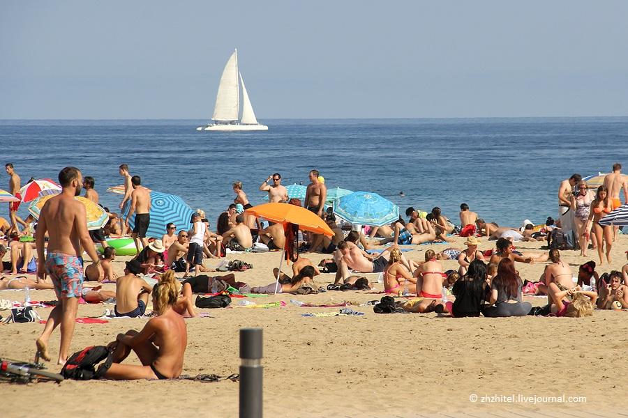 Пляж в гурзуфе крым фото чили делают