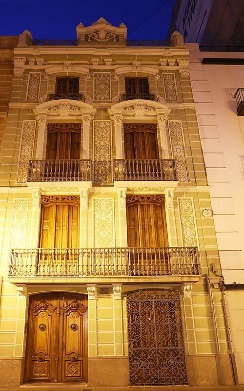 Castellon de la Plana, Castellon de La Plana. Calle Caballeros - the street of knights