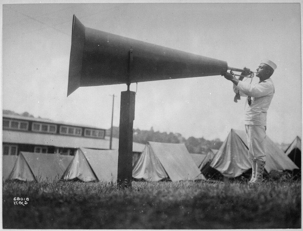 """""""Getting em up"""" at U.S.Naval Training Camp, Seattle, Washington. Webster & Stevens., ca. 1917 - ca. 1918"""