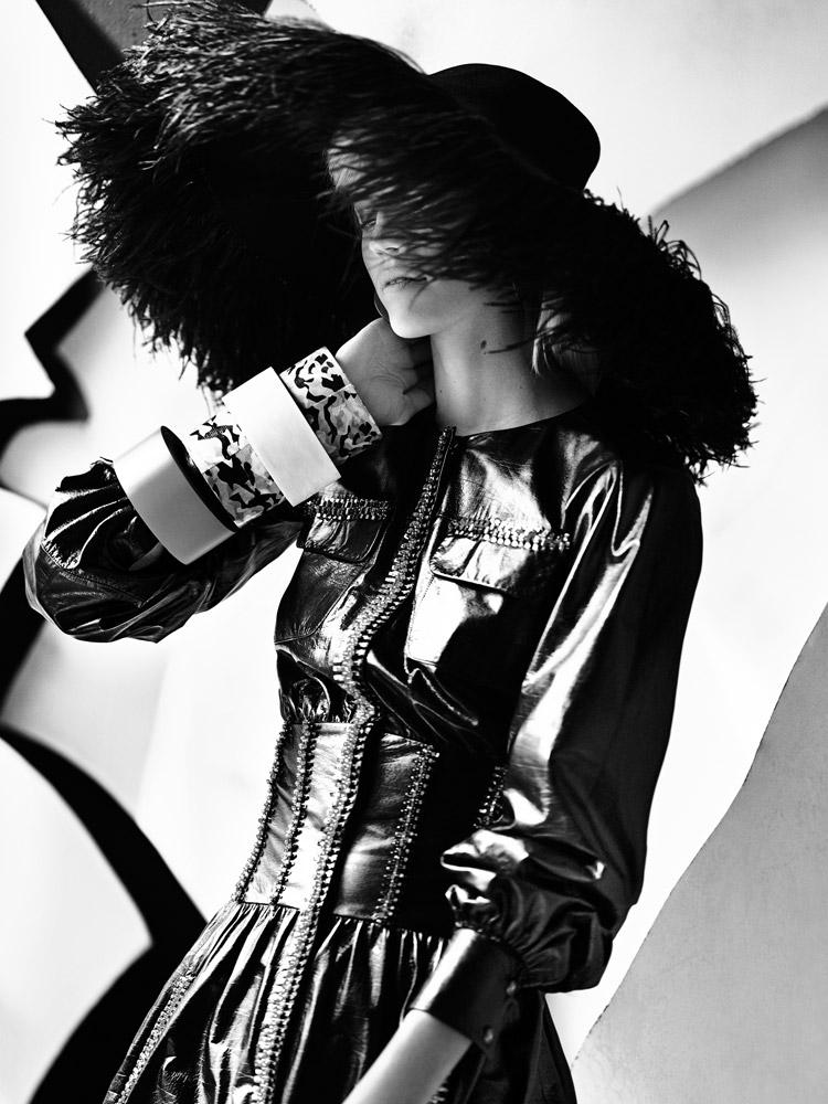 Девон Виндзор (Devon Windsor) в журнале Stylist France