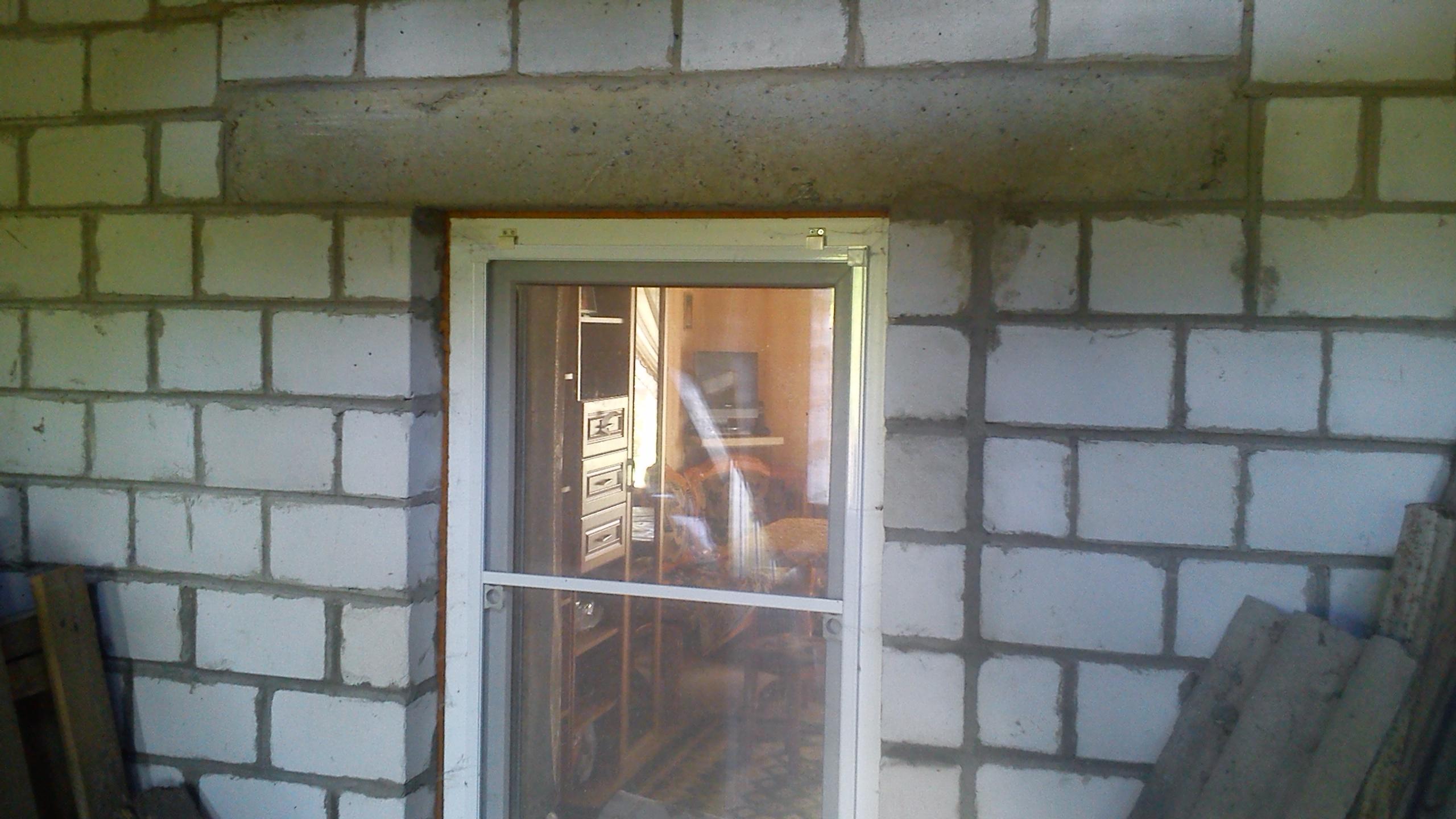 Как из окна сделать дверной проем 8