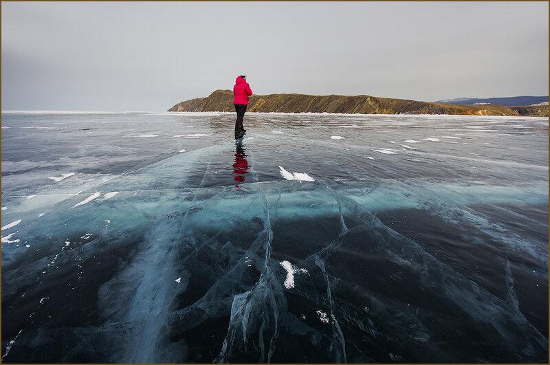 По открытому льду