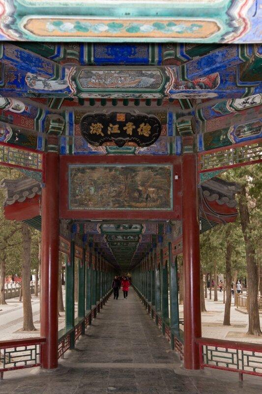 Длинный коридор, парк Ихэюань, Летний императорский дворец, Пекин