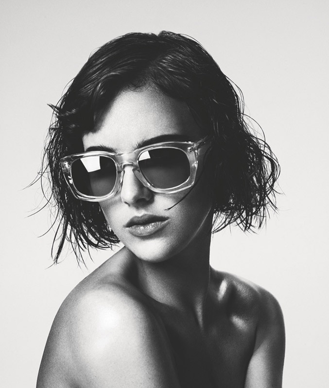 Eliza Cummings / Элиза Каммингс разделась для рекламы очков House of Holland, сезон лето 2014