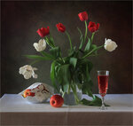 С тюльпанами Автор Tatyana_SK
