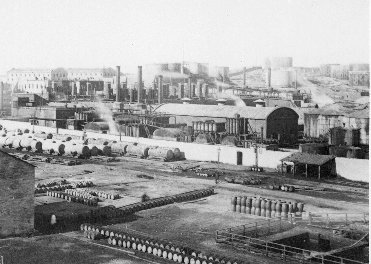 Панорама завода Нобеля в Баку