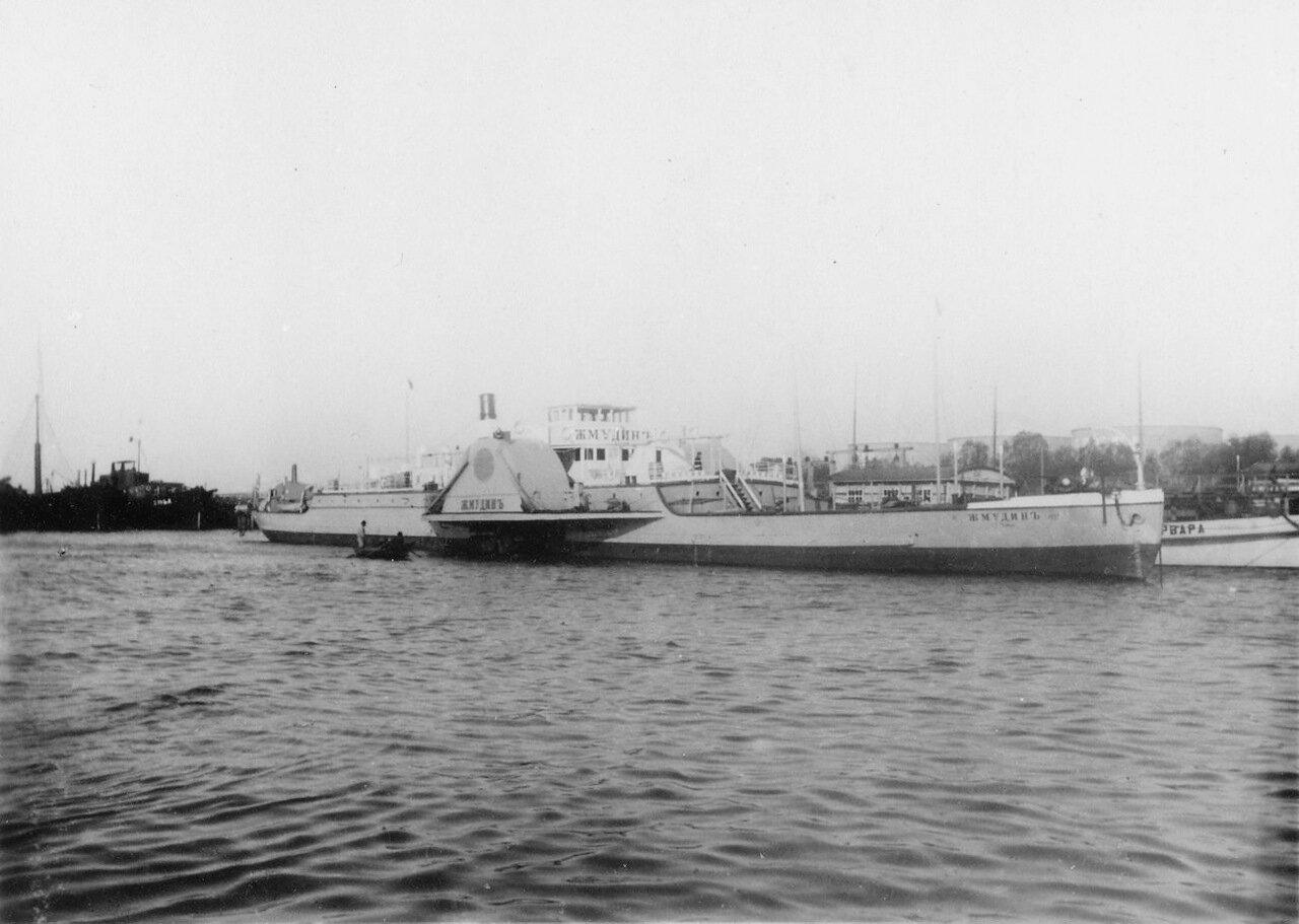 Колесный пароход «Жмудин» на нефтяных объектах Нобеля в Баку