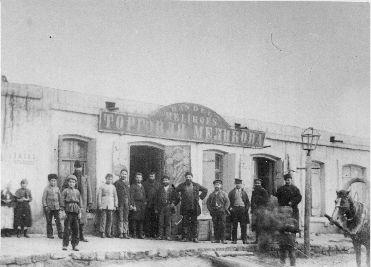 Магазин в «Черном городе» Баку.
