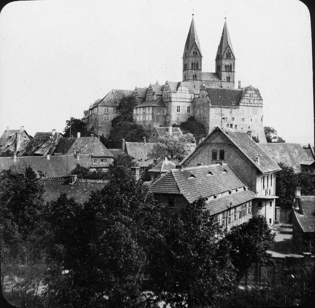 Кведлинбург. Базилика Святого Серватия, 1902