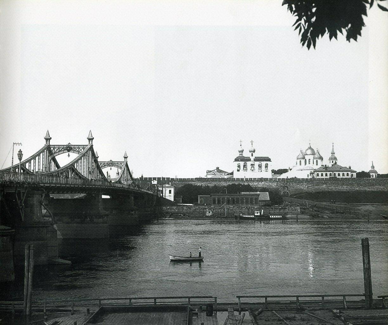 Вид на кремль и мост 1899-1902