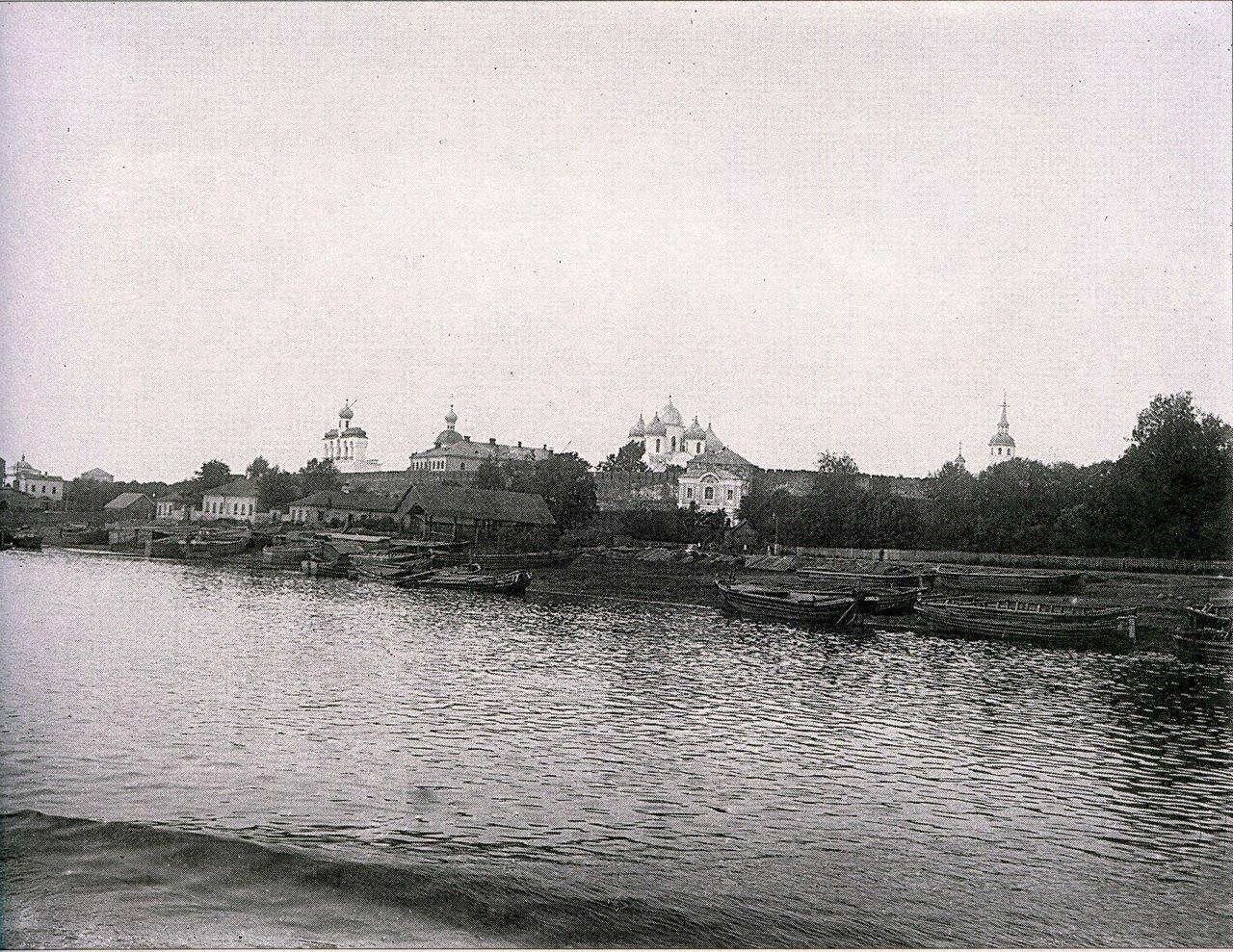 Вид на Кремль с Волхова 1911
