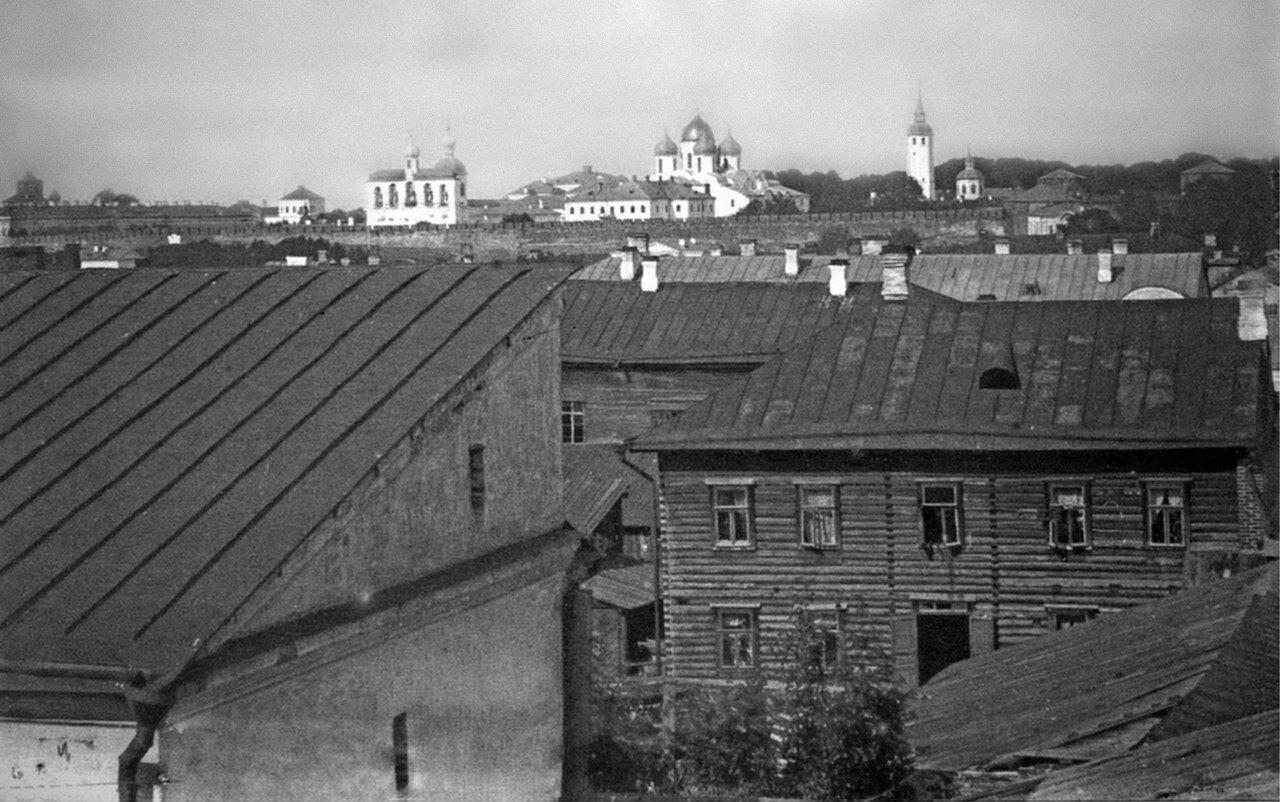 Вид на Кремль с Торговой стороны.1911