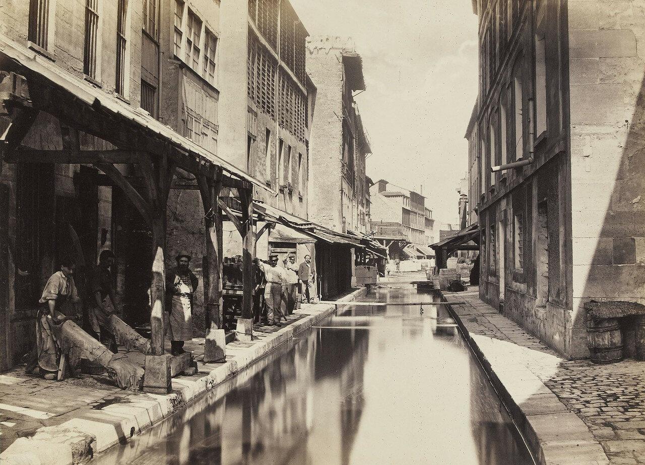 1865-1868. Русло реки Bievre