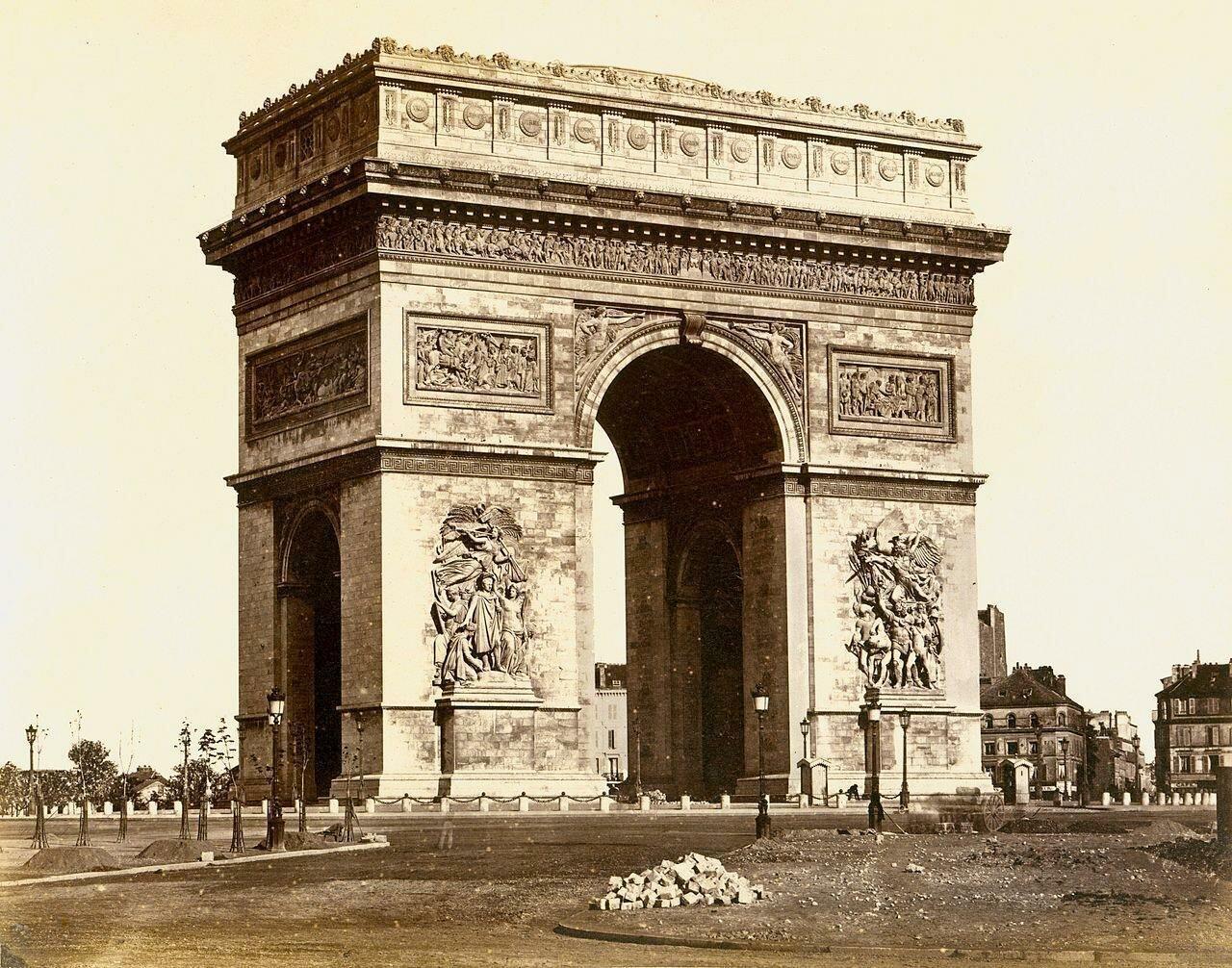 1850-е. Триумфальная арка