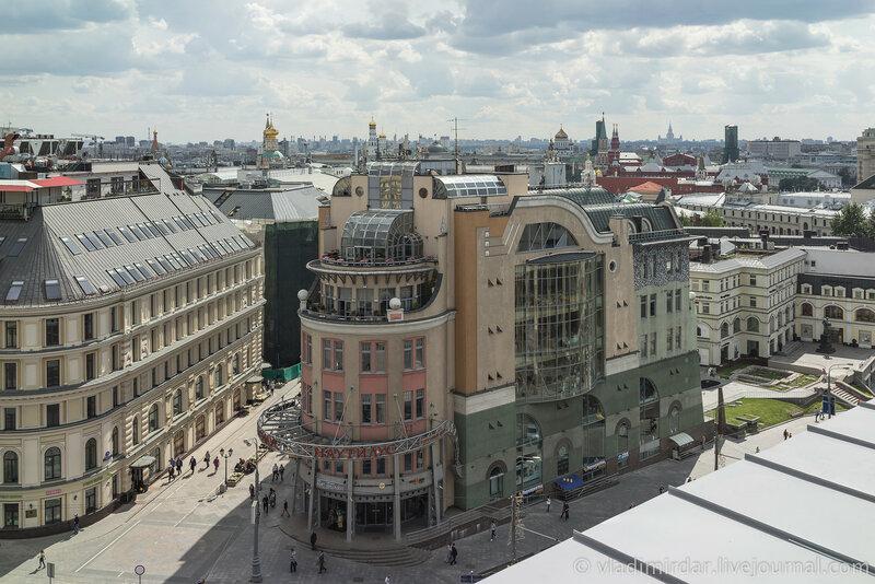 Панорама Москвы со смотровой площадки Детского Мира