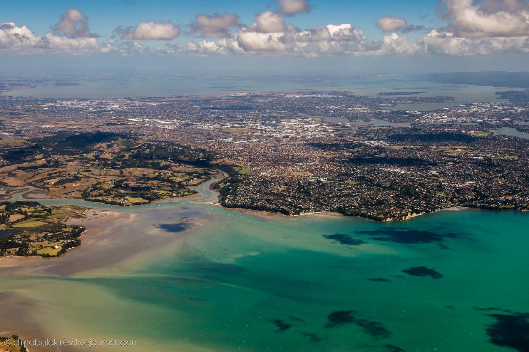 Мельбурн –Окленд с Самолёта