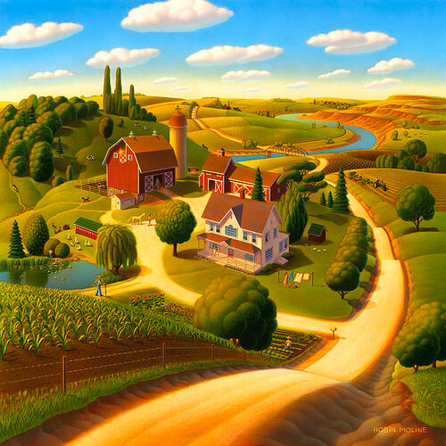 Современная живопись - Разное - Страница 2 0_bdab4_b67c2b7d_L