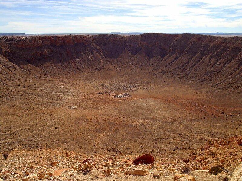 фото огромных кратеров можно