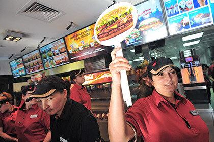 Крымский McDonald's сменит Burger King