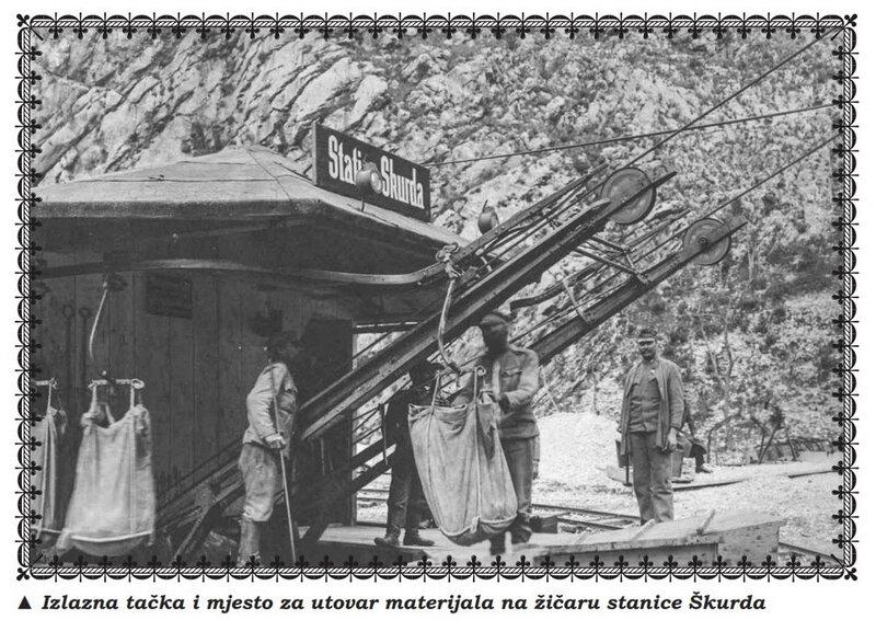 Австро-венгерская канатка Котор-Ловчен-Цетинье