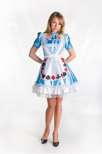 Женский карнавальный костюм Алиса в Стране Чудес