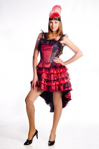 Женский карнавальный костюм Танцовщица