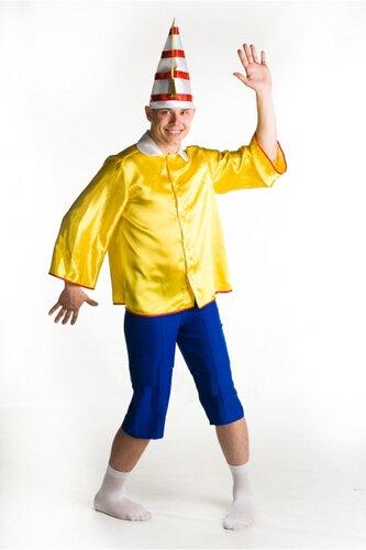 Мужской карнавальный костюм Буратино