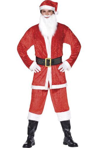 Мужской карнавальный костюм Санта-Клаус